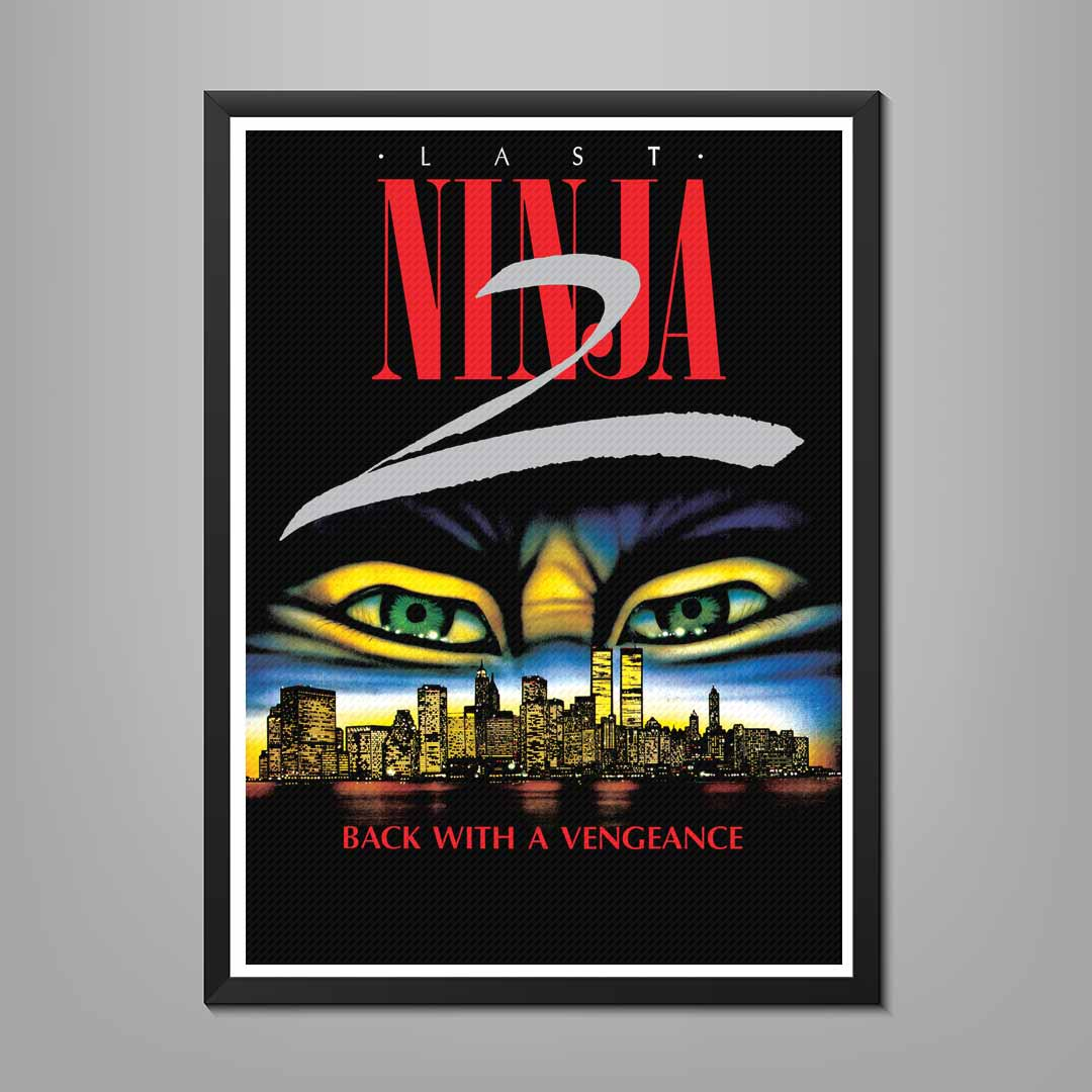 Last Ninja 2 Poster