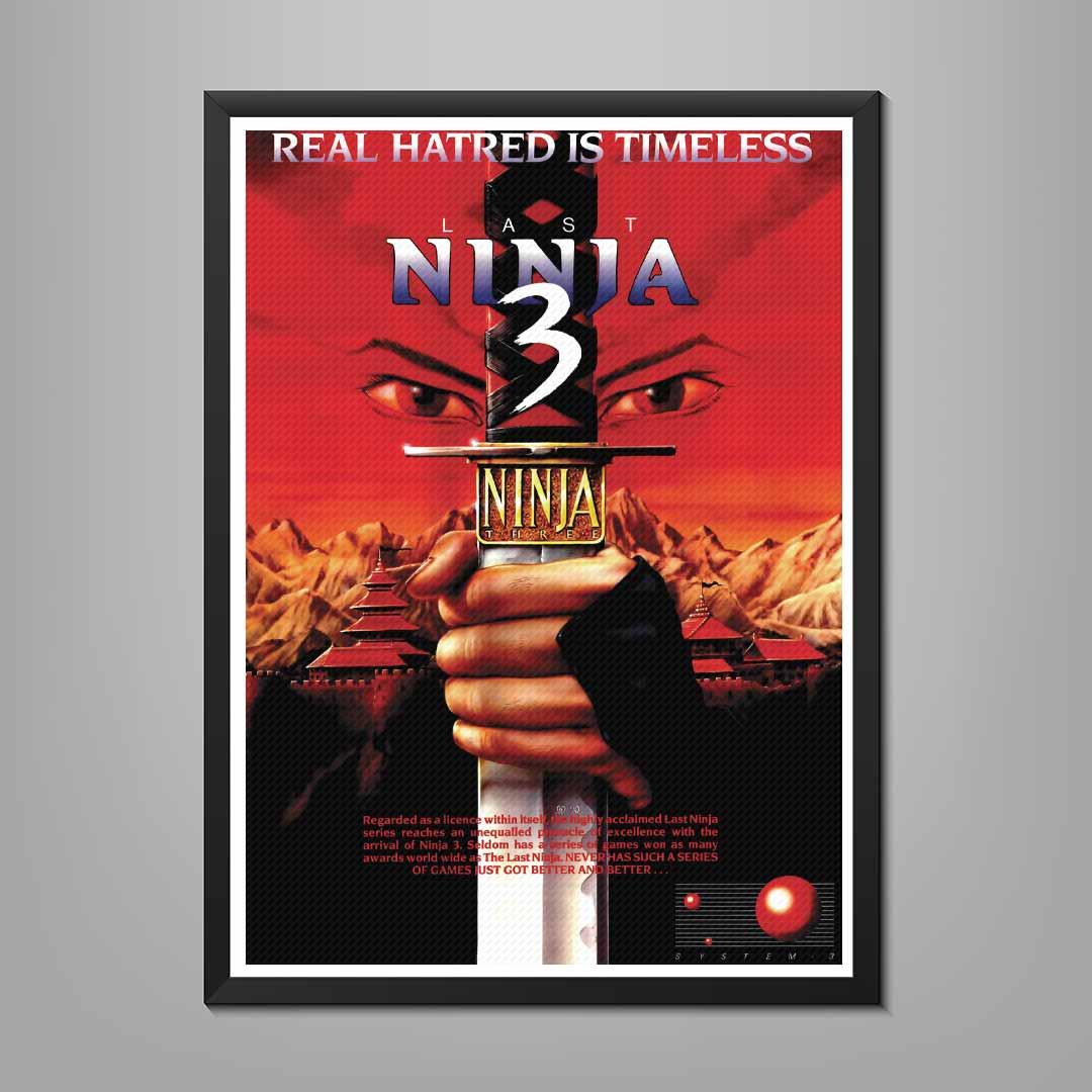 Last Ninja 3 Poster