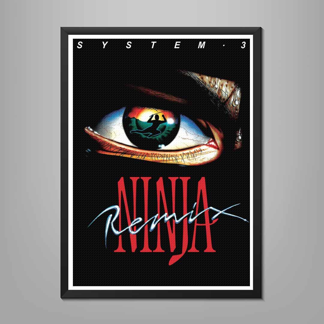 Last Ninja Remix Poster