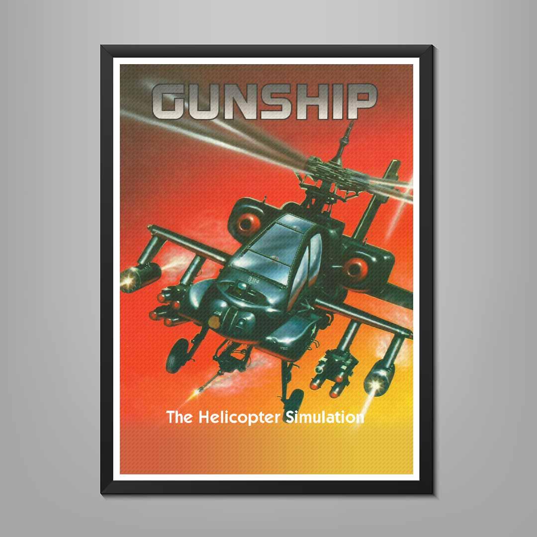 Gunship Poster